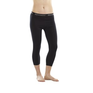 ioMerino Altitude Womens Base Layer 7/8 Tights - Black