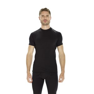 ioMerino Altitude Mens Base Layer T-Shirt - Black