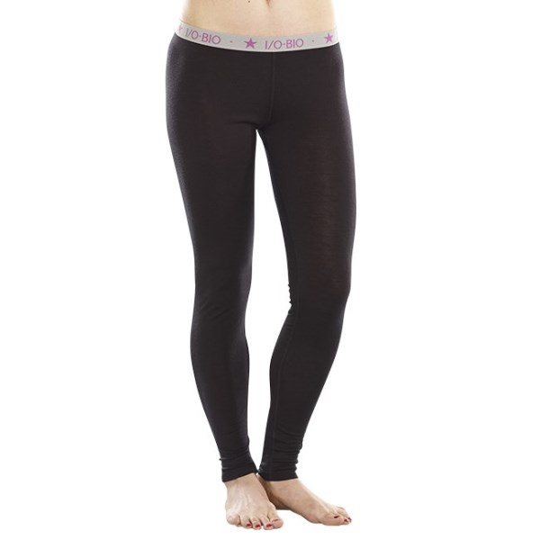 ioMerino Altitude Womens Thermal Base Layer Tights - Black