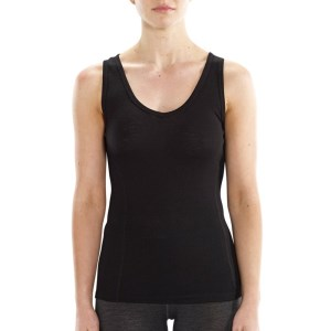 ioMerino Vital Womens Tank Top - Black