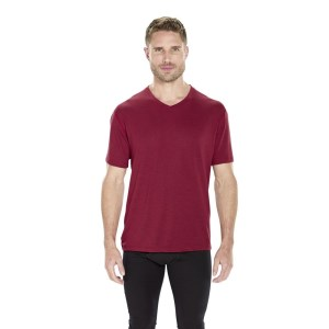 ioMerino Pacer Mens Mid Layer T-Shirt  - Red