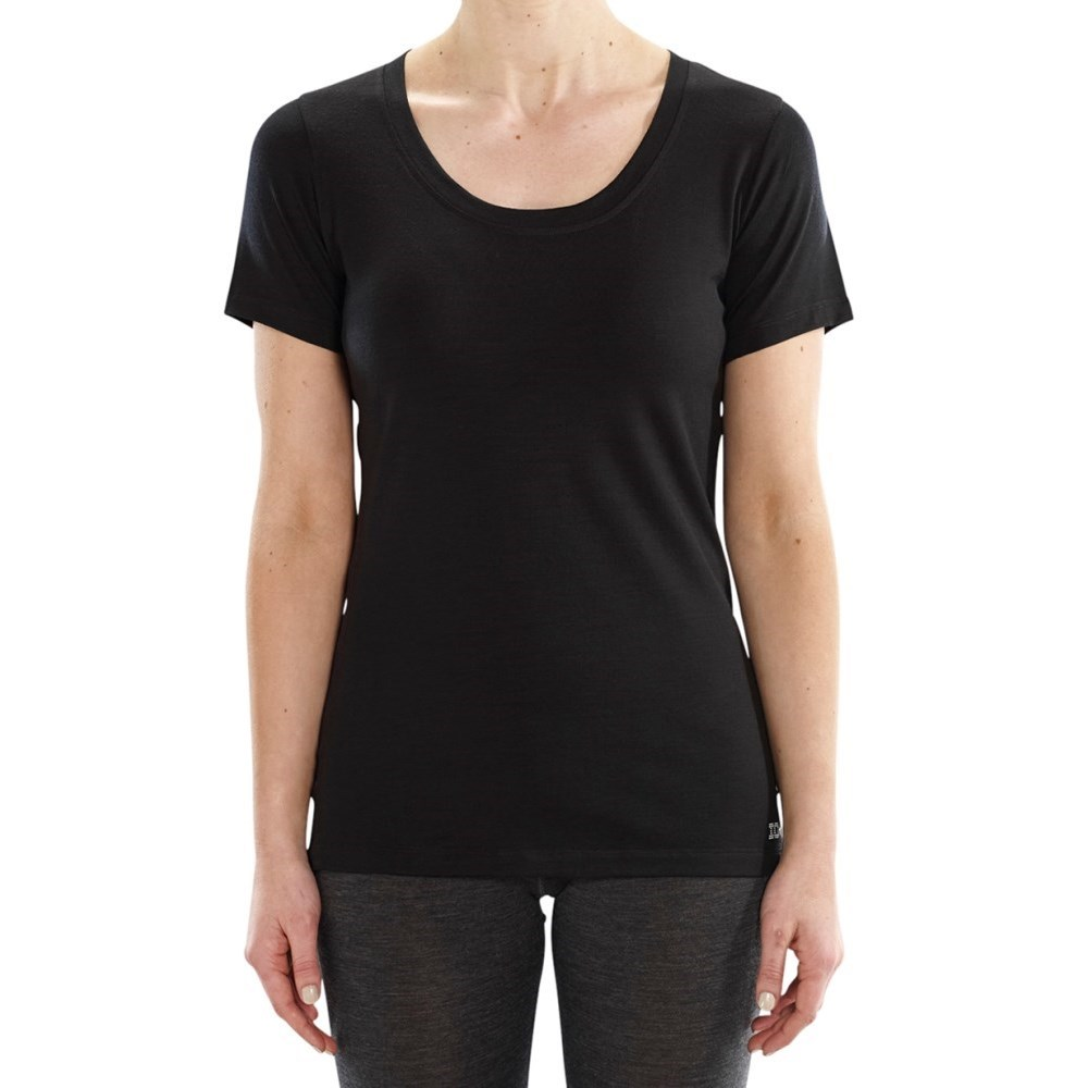 iomerino altitude womens base layer t shirt black online