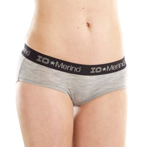 ioMerino Zodiac Womens Boy Brief - Grey Melange
