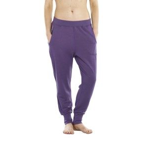 ioMerino Stride Womens Tracksuit Pants - Celestial Purple