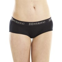 ioMerino Zodiac Womens Boy Brief - Black