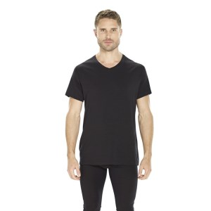 ioMerino Pacer Mens Mid Layer T-Shirt - Black